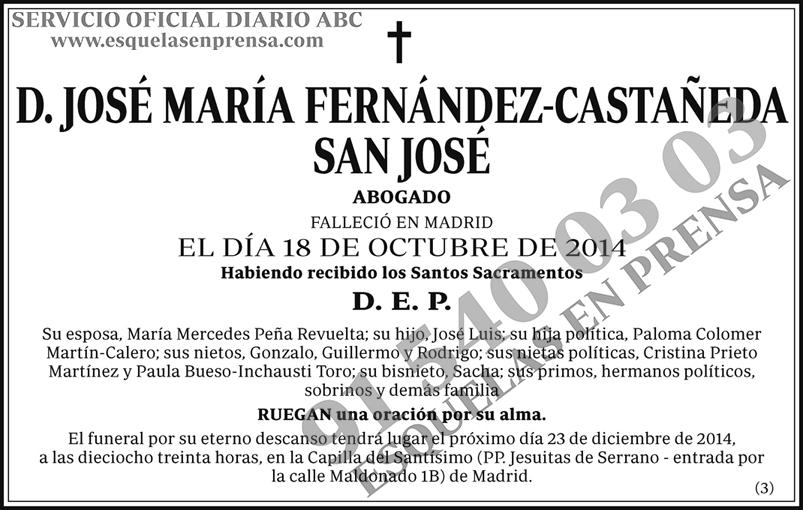 José María Fernández-Castañeda San José